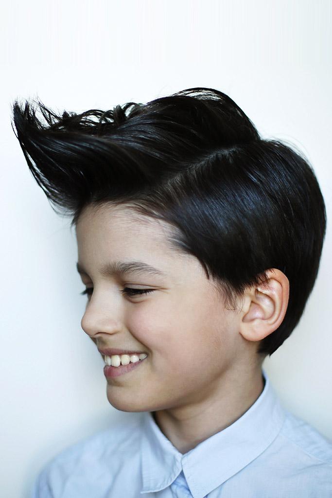 Young Boy Haircut Salon One Wellesley